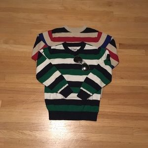 Children's Place Boys Long Sleeve Striped Sweater